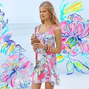 Lilly Pulitzer Carmel Swing Dress Swept by Tides